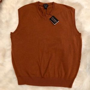🎉HP🎉 Jos. A. Bank Clay-Brown Sweater Vest